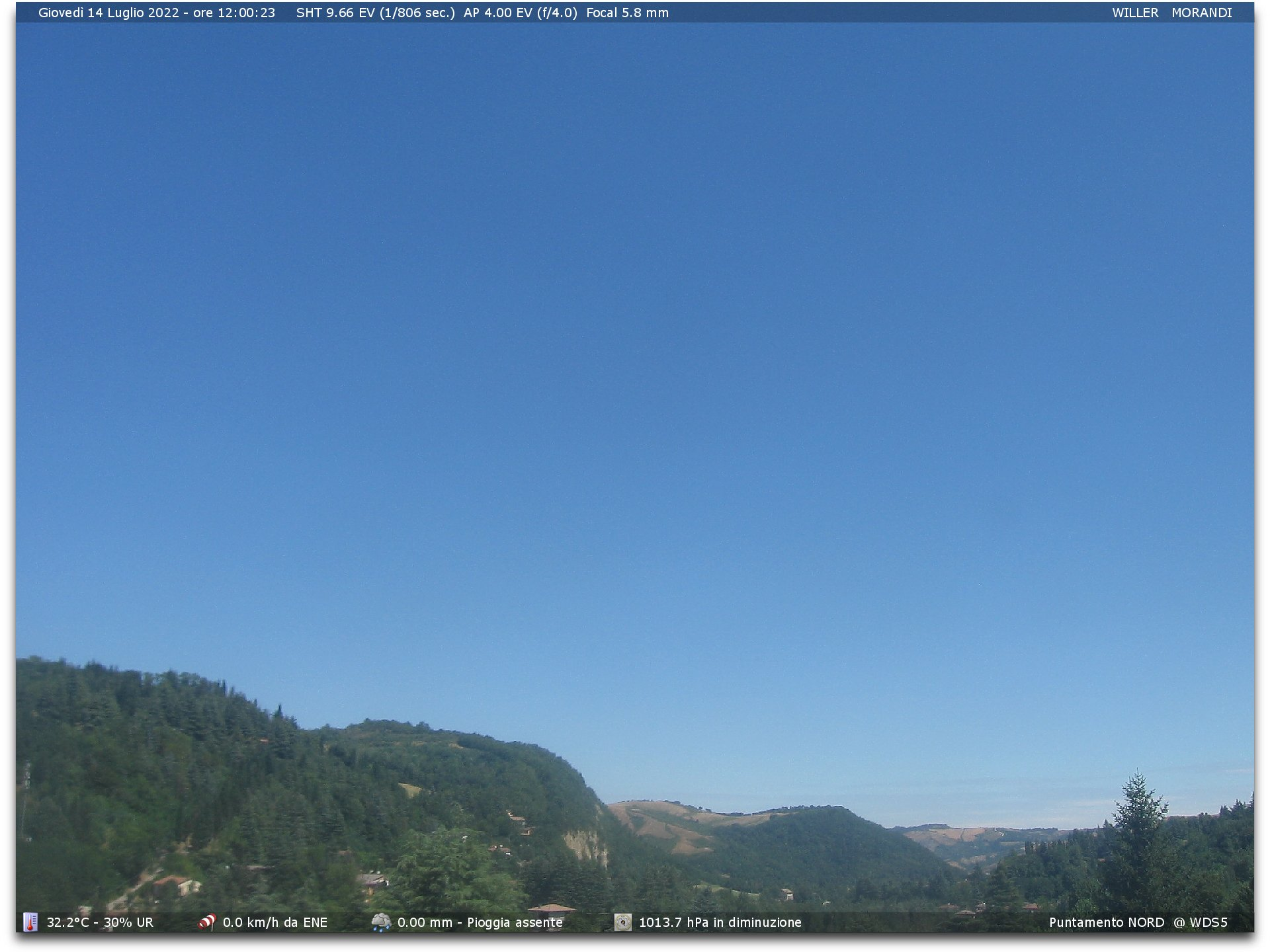 Webcam Monterenzio